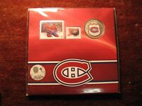 Canada 2014 Montreal Canadien Coin Stamp RCM Mint Set.