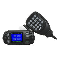 QYT KT-8900D Dual Band Quad Standby 25W VHF UHF Car/Trunk Ham Mobile Radio PRO