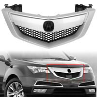 NEW Bumper Grill Grille FOR 2010 2011 2012 2013 Acura MDX Replace for AC1200118