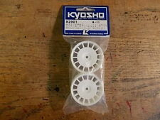 92901 Wheel (White Aero Dish 24mm)- Kyosho Pure Ten Fazer GP-10 TF-3 V-One TF-2
