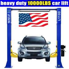 10,000lbs Car Lift L1100 2 Post Lift Car Auto Truck Hoist INQUIORY SHIPPING!