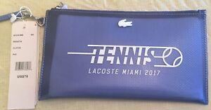 Lacoste Clutch Miami Open Tennis 2017 Blue Regatta