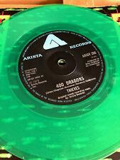 400 DRAGONS THIEVES GREEN VINYL UK BRITISH PRESS VINYL 45 RECORD HEADLIGHTS