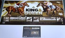 "BLACK CAVIAR AND PHAR LAP ""THE KING AND QUEEN"" PRINT ONLY + COA  - LUKE NOLEN"