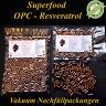 125 OPC Resveratrol Vegi Kapseln aus 100% Traubenkernmehl und Traubenkernöl