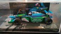 MINICHAMPS F1 1/43 BENETTON FORD B194 MICHAEL SCHUMACHER WORLD CHAMPION 1994