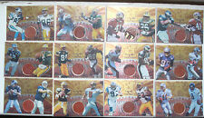 1997 Collector's Edge Masters Playoff Game Ball Complete set of 19