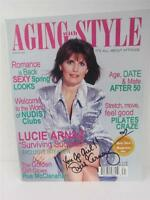 Lucie Arnaz Aging with Style Magazine Cover Spring 2003 Lucille Ball COA Video
