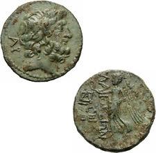 Elaioussa Sebaste Insel Kilikien Bronze 1. Jhd.v.Chr. Zeus Nike SNG France 1151
