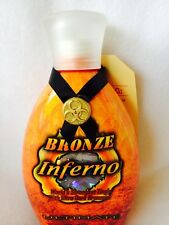 Ultimate Bronze Inferno Extreme Hot Tingle Indoor Tanning Bed Lotion New
