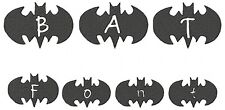 Bat Font Machine Embroidery 104 Designs 2 sizes