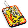 Hong Kong Phooey Luggage Tag. Baggage Suitcase Holiday Label Travel Gift