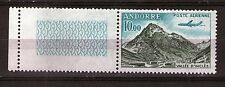 ANDORRE - AERIENNE PA - 1961 YT 8 - TIMBRE NEUF** LUXE