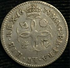 More details for maundy fourpence groat 1674 charles ii (t90)