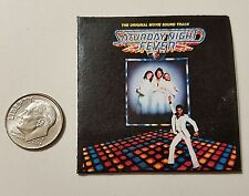 Miniature record albums Barbie Gi Joe 1/6  Playscale  Saturday Night Fever Disco