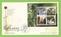 G.B. 2009 Plants m/s on Royal Mail First Day Cover, Tallents House