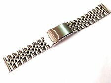 20MM SEIKO DIVERS JUBILEE STAINLESS STEEL WATCH STRAP / BAND STRAIGHT END (SE6)