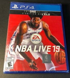 NBA Live 19 [ The One Edition ] (PS4) NEW