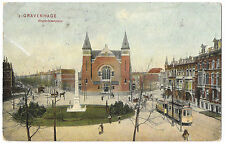 Netherlands 's Gravenhage, Regentesseplein - The Hague PPC 1907 PMK w Tram