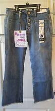 NEW Indigo Rein size 3 Blue Jeans Crop Straight Leg Light denulim button fly NWT