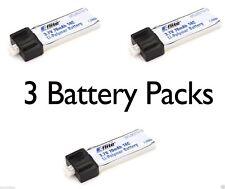 E-Flite 3 pc Blade Scout CX 14C 70mAh 1S 3.7V LiPo Battery #EFLB0701S