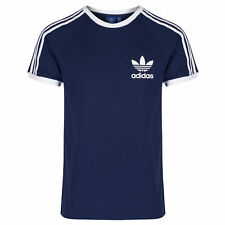 adidas Sport Essentials Tee Mens S18422 Navy Blue Slim Fit T-shirt US Size 3xl