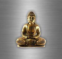 Autocollant sticker voiture tuning bouddhiste bouddha zen dalai lama