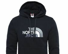 NORTH FACE Fleece Hoodie T0AHJYKX7 Black Hooded Sports tracksuit top size L