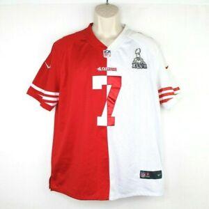 San Francisco 49ers Colin Kaepernick Super Bowl Jersey Size Large