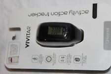 Brand New Vivitar Activity Action Tracker Calories,steps,distance and more black