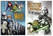 Star Wars:The Clone Wars Season1-6 Complete Series1-5 +Season 6 Lost Mission DVD
