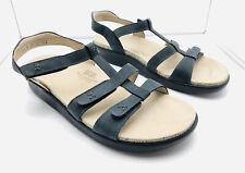 SAS Women's Sandals Tripad Comfort Sorrento T Strap Sandal Navy Suede 9.5 M