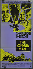 OMEGA MAN 1971 ORIG 13X28 AUSTRALIAN MOVIE POSTER CHARLTON HESTON ANTHONY ZERBE