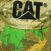 CAT Caterpillar Camouflage Hat Baseball Cap Tractor One Size Strapback