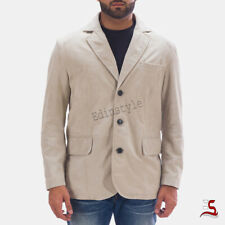 New Style Geniune Sheep Skin Hot Men's Coat Soft Leather Blazer