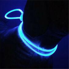 LED Dog Collar Light Chain Luminous Pet Cat Collar Night Safety Flash Adjustable