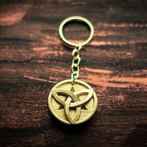 Genshin Impact Morax Mora Gold Coin Metal Keychain Necklace Pendant Charms