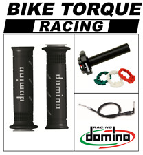YZF600 R6 1999 - 2007 Domino XM2 Quick Action Throttle Kit Black Grey XM2 Grips