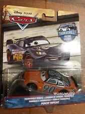 Disney Cars Ponchy Wipeout Thomasville Racing Legends 1:55 Mattel Diecast