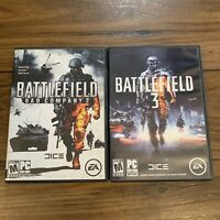 Battlefield 3 & Bad Company 2 For PC Lot Of (2) EA