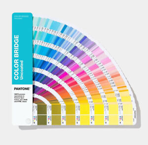 New Pantone Color Bridge Guide Uncoated Book
