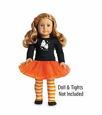 American Girl MY AG SPOOKY FUN OUTFIT NO TIGHTS for Dolls + Charm NEW Halloween