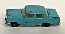 Vintage 1964 Husky Blue Mercedes 220 Car Diecast Model Car England