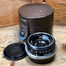 W-Nikkor.C 2.8cm f/3.5 Nikon S Mount Rangefinder Lens