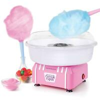 Cotton Candy Maker Hard & Sugar-Free Confections Easy Cleaning [Pink or Blue]