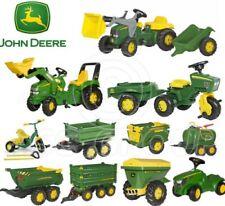Rolly Toys - John Deere Pedal Tractors Trailers Loader Tanker Trike Spreader NEW