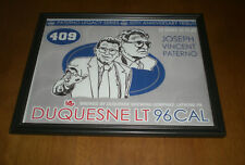 2016 PENN STATE COACH JOE PATERNO 50th ANNIVERSARY FRAMED PRINT - DUQUESNE BEER