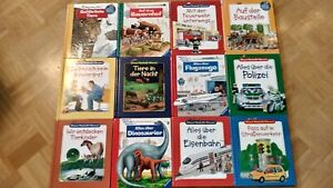 XXL Paket (12 Stück)  Wieso Weshalb Warum, Tiere+Fahrzeuge/Verkehr, 4-7 Jahre