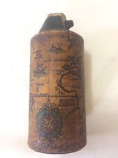 Vtg 1970 Gillette Wild Cricket Table Lighter Old World Mariner's Map distressed