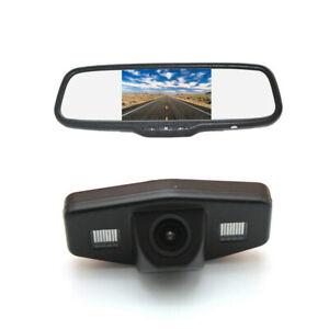 Reverse Camera & Clip-on Rear View Mirror Monitor for Honda Accord Pilot Civic
